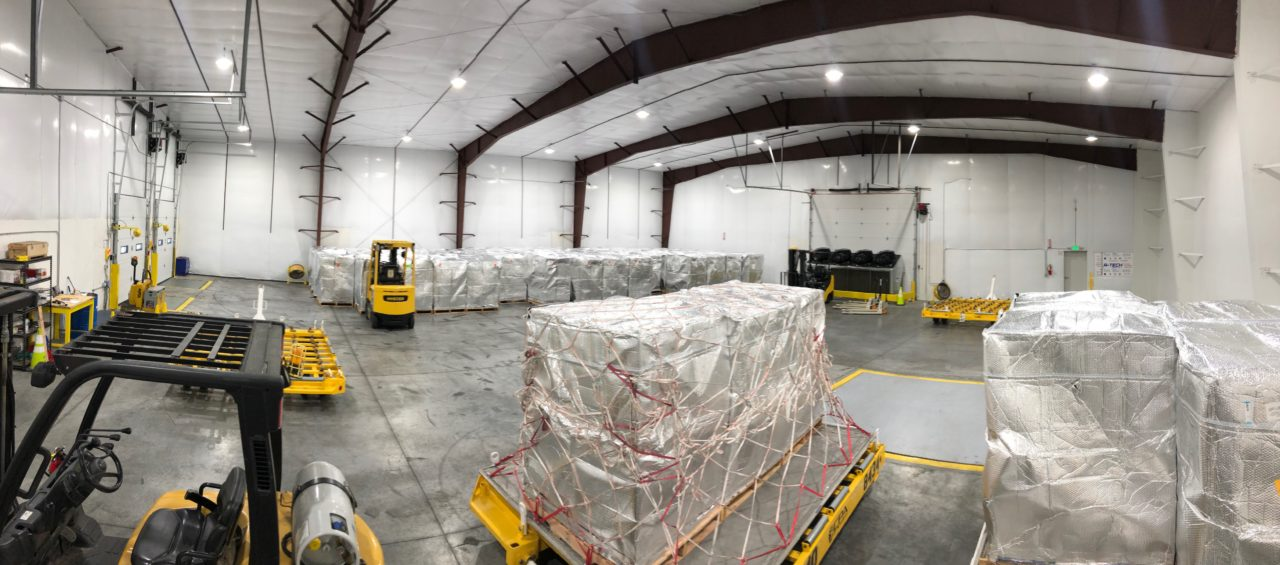 CPA's new dedicated air cargo handling facility.